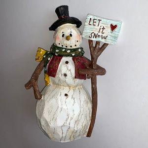 """""""Let it Snow"""" Snowman"""